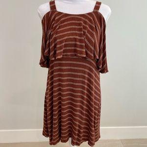 Lush rust-colored sun dress